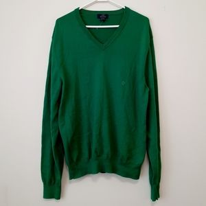 NWOT Brooks Brothers Green Supima Cotton Sweater
